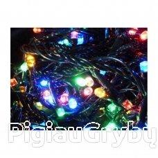 300 LED Kalėdinė lauko lempučių girlianda 27,7 m, įvairiaspalvė