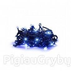 300 LED Kalėdinė lempučių girlianda 25,5 m, mėlyna šviesa
