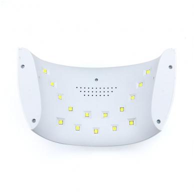 30W LED UV hibridinė lempa nagams SUN8 9