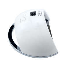 48W LED/UV hibridinė lempa nagams SUN6, baltos sp.