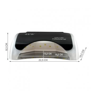 48W CCFL+LED hibridinė lempa nagams 5