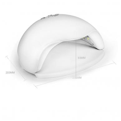 48W LED/UV hibridinė lempa nagams Sun5X 7