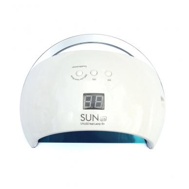 48W LED/UV hibridinė lempa nagams SUN6, baltos sp. 2