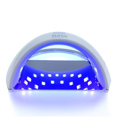 48W LED/UV hibridinė lempa nagams SUN6, baltos sp. 3