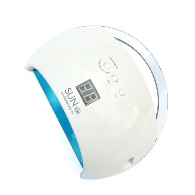 48W LED/UV hibridinė lempa nagams SUN6, baltos sp. 4