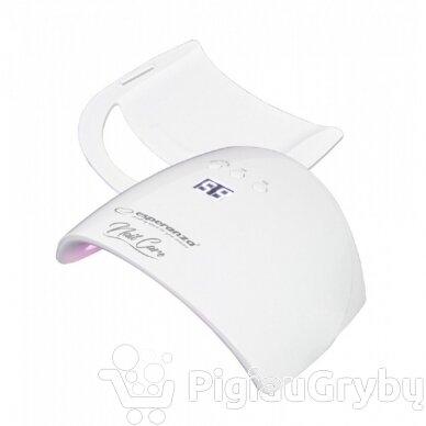 48W UV LED hibridinė lempa nagams ESPERANZA TOPAZ 3