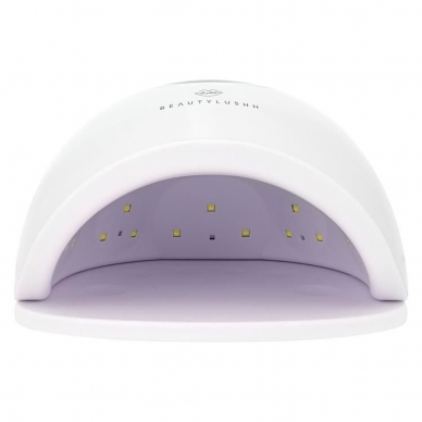 48W UV LED hibridinė lempa nagams Star5, baltos sp. 8