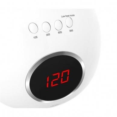 48W UV LED hibridinė lempa nagams Star5, baltos sp. 9