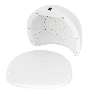 48W UV LED hibridinė lempa nagams Star5, baltos sp. 10