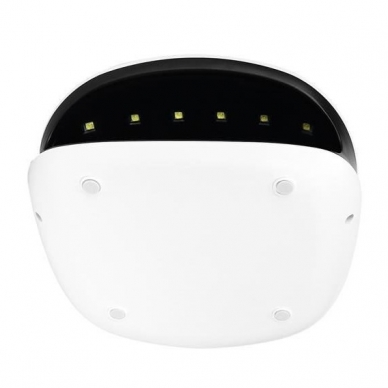 48W UV LED hibridinė lempa nagams SUN4, baltos sp. 13