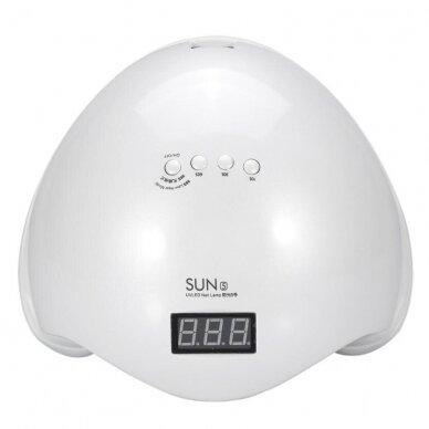 48W UV LED hibridinė lempa nagams SUN5 3