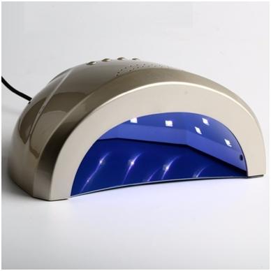 48W UV LED hibridinė lempa nagams SUNone 19