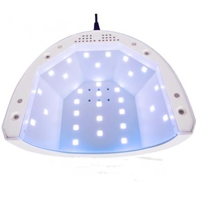 48W UV LED hibridinė lempa nagams SUNone 5