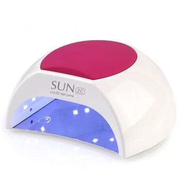 48W UV/LED hibridinė lempa nagams SUN2c