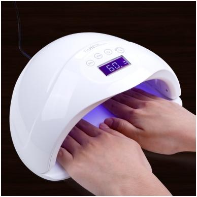 48W UVLED hibridinė lempa nagams Sun5 Plus, baltos sp. 2