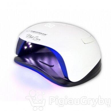 54W UV LED hibridinė lempa nagams ESPERANZA AMETHYST