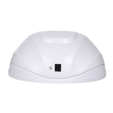 54W UV LED hibridinė lempa nagams SUN x, baltos sp. 4