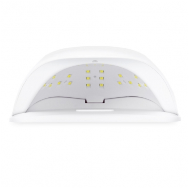 54W UV LED hibridinė lempa nagams SUN x, baltos sp. 7