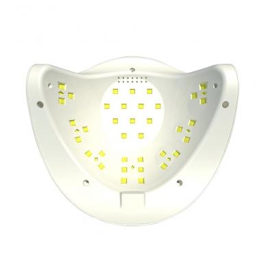 54W UV LED hibridinė lempa nagams SUN x, baltos sp. 8