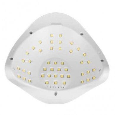 120W UV LED hibridinė lempa nagams SUN x5 MAX 7