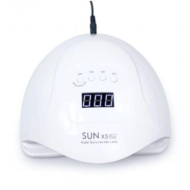 54W UV LED hibridinė lempa nagams SUN x5 Plus 2