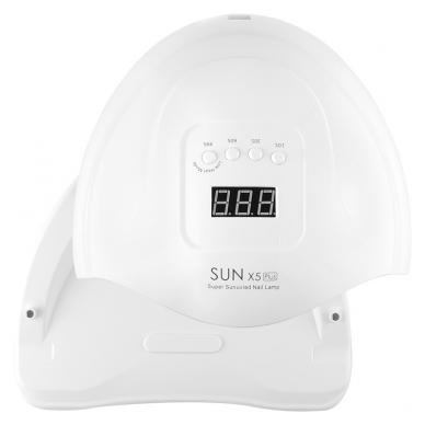 54W UV LED hibridinė lempa nagams SUN x5 Plus 5