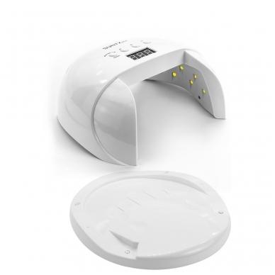 60W UV/LED hibridinė lempa nagams SUN7X, baltos sp. 2