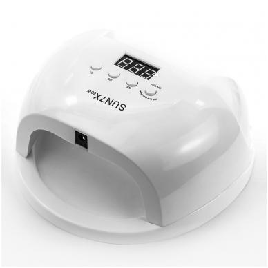 60W UV/LED hibridinė lempa nagams SUN7X, baltos sp. 3