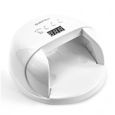 60W UV/LED hibridinė lempa nagams SUN7X, baltos sp. 4