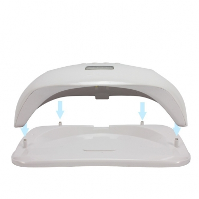 72W UV LED hibridinė lempa nagams SUN xPlus 5