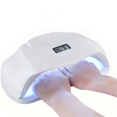 72W UV LED hibridinė lempa nagams SUN xPlus 9