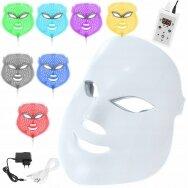 7 spalvų fotoninės šviesos terapijos LED veido kaukė