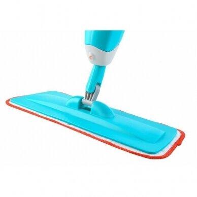 Atsarginė šluostė grindų šluotai su purkštuku 4