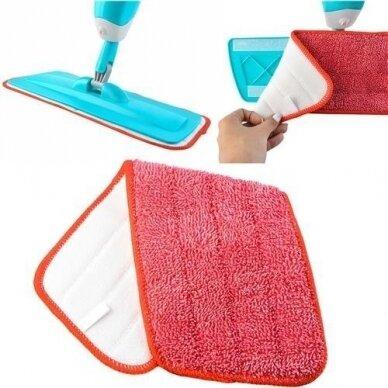 Atsarginė šluostė grindų šluotai su purkštuku 5