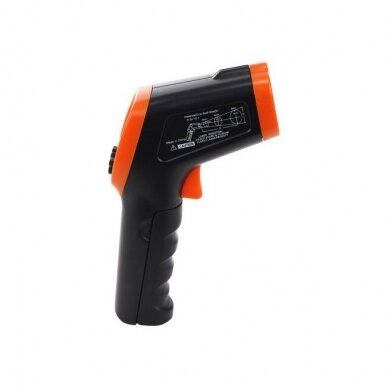 Bekontaktis infraraudonųjų spindulių termometras DT-8550 4