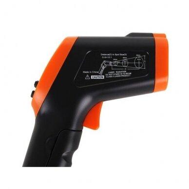 Bekontaktis infraraudonųjų spindulių termometras DT-8550 5