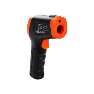 Bekontaktis infraraudonųjų spindulių termometras DT-8550 6