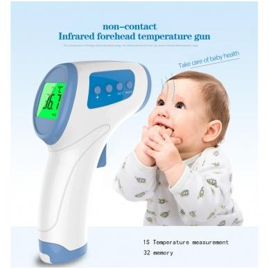 Bekontaktis kūno termometras HY-216 6