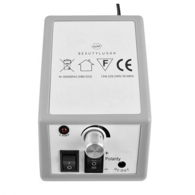 Elektrinė dildė nagams (nagų freza) HBS-025 2