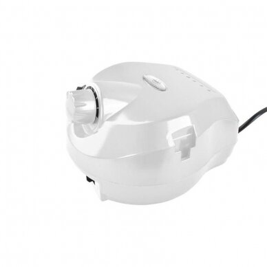 Elektrinė dildė nagams (nagų freza) HBS-401 iki 35000 RPM, baltos sp. 3