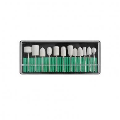 Elektrinė dildė nagams (nagų freza) HBS-401 iki 35000 RPM, raudonos sp. 13