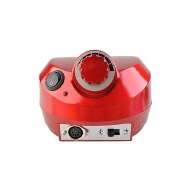 Elektrinė dildė nagams (nagų freza) HBS-401 iki 35000 RPM, raudonos sp. 5