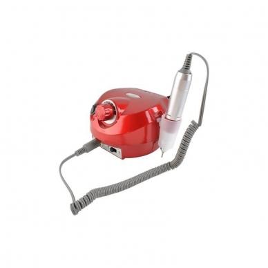 Elektrinė dildė nagams (nagų freza) HBS-401 iki 35000 RPM, raudonos sp. 6