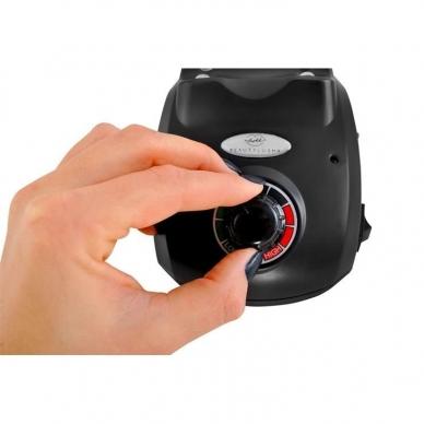 Elektrinė dildė nagams (nagų freza) HBS-402 iki 35000 RPM, juodos sp. 5