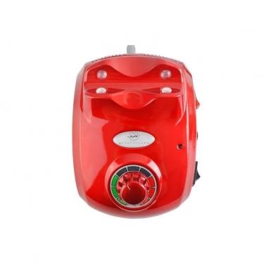 Elektrinė dildė nagams (nagų freza) HBS-402 iki 35000 RPM, raudonos sp. 7