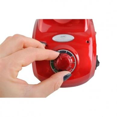 Elektrinė dildė nagams (nagų freza) HBS-402 iki 35000 RPM, raudonos sp. 8