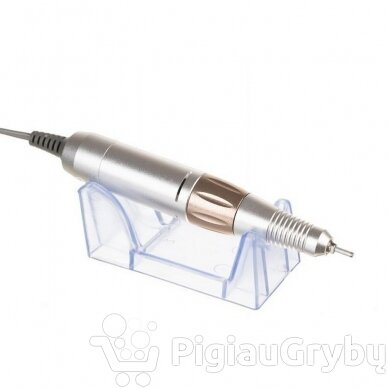 Elektrinė freza nagams su 60 antgalių iki 35000 RPM, auksinės sp. 6
