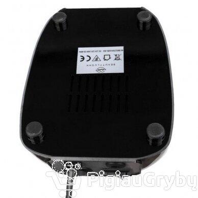 Elektrinė freza nagams su 60 antgalių iki 35000 RPM, juodos sp. 5