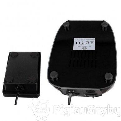 Elektrinė freza nagams su 60 antgalių iki 35000 RPM, juodos sp. 9