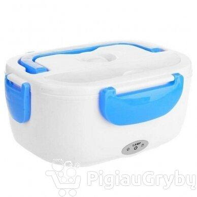Elektrinė priešpiečių dėžutė, mėlyna 3